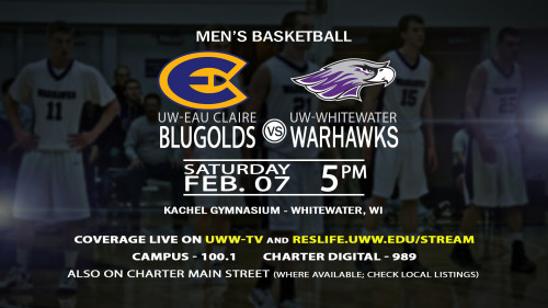 UWW-TV to Televise Battle Between Warhawks and Blugolds