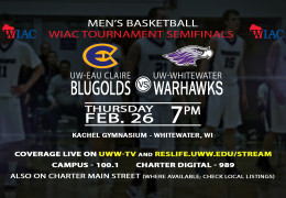 UWWTV To Cover WIAC Conference Tournament