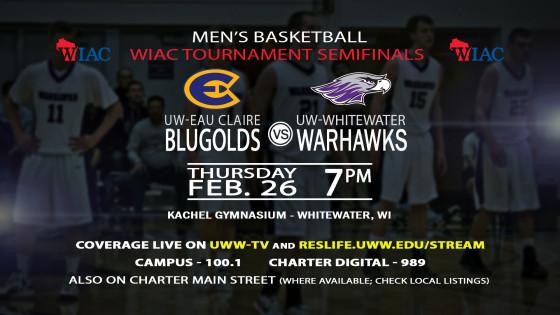 UWWTV To Cover WIAC Conference Tournament
