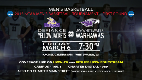March Madness Hits Whitewater