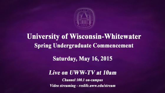 UWWTV To Cover Spring Commencement