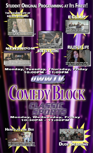 Comedy Block Poster