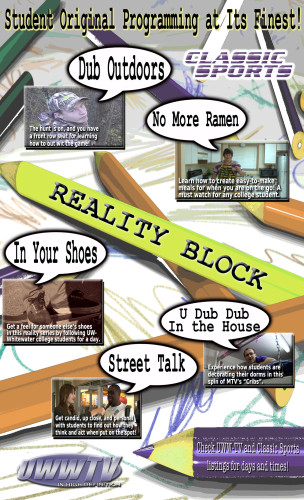 Reality Block Poster