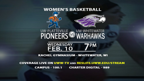 More Basketball Action This Week On UWW-TV