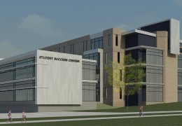 UW-Whitewater Breaks Ground on Mary Poppe Chrisman Success Center