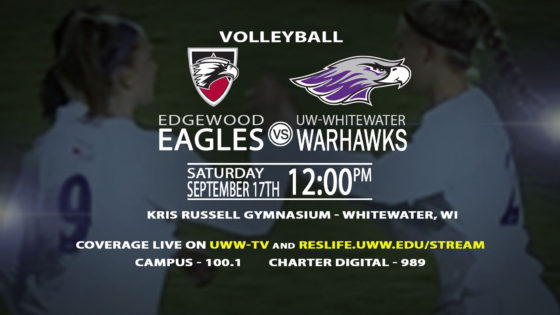 Volleyball Is Back On UWW-TV!