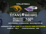 Warhawk Volleyball takes on UW-Oshkosh in Conference Opener