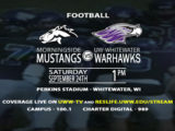Warhawk Football faces off against the Morningside Mustangs