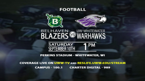 The Warhawks Welcome the Belhaven Blazers to Perkins Stadium!