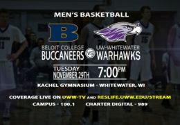 Men's Basketball Takes on Beloit College