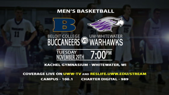 Men's Basketball Takes on Beloit College