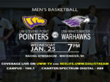 UWW-TV Is Back With Men's Basketball!