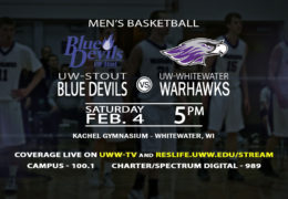 The Warhawk Men take on the Blue Devils