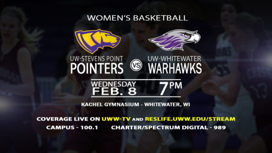 The Warhawks take on UW-Stevens Point this Wednesday!