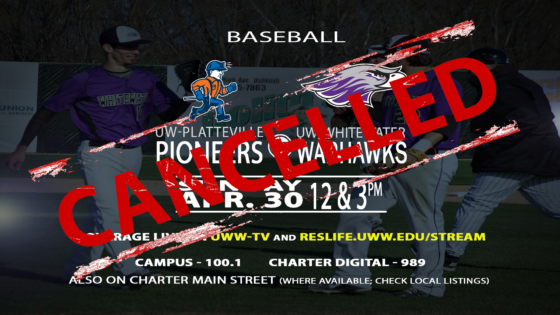 CANCELLED BROADCASTS: Warhawk Baseball Faces Quadruple Header Against Pioneers!