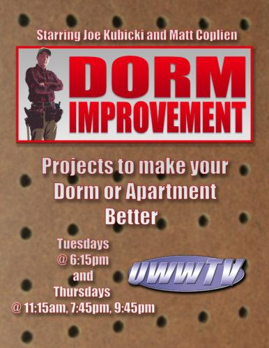 Dorm Improvement Poster 2017