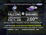 T-Minus Two Hours 'Til LIVE Warhawk Volleyball Action!