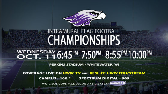T-Minus 6 Hours to Intramural Football Championship Fun!