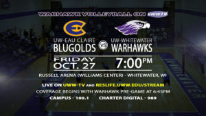 Warhawk Volleyball Set to Match with UW-Eau Claire!