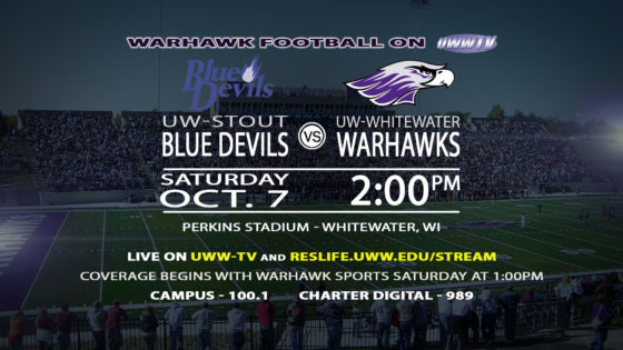 Tomorrow: Warhawk Football, Family, and Alumni Take on UW-Stout!