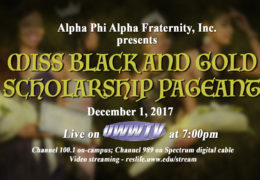 Tonight: Annual Miss Black and Gold Pageant LIVE on UWW-TV!
