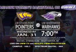 Women's Basketball Takes on UW_Stevens Point Wednesday, January 31st, 2018!