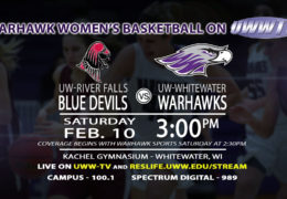 Warhawk Women's Basketball to Face Off with River Falls!