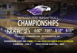 UWW-TV Brings LIVE Intramural Basketball Championship Action to You!