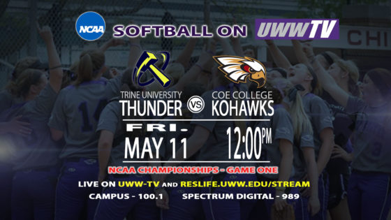 UW-Whitewater Softball to Host NCAA Championships on Friday, May 11th- 13th, 2018!
