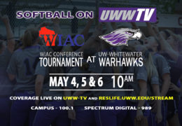 UWW-TV Brings You the WIAC Conference Softball Tournament!