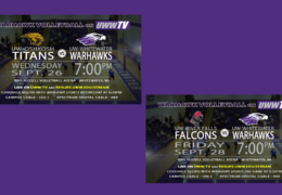 UWW-TV Brings You Two LIVE Volleyball Broadcasts This Week!