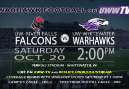 Homecoming Match-Up Flies the Falcons into Warhawk Territory LIVE on UWW-TV!