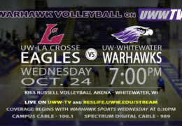 UW-Lacrosse Enters Warhawk Volleyball Territory Tomorrow!