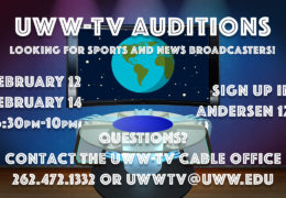 UWW-TV Wants You to Pursue Your Passion for Being an On-Air Talent!