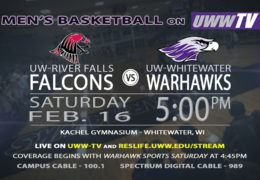 The UW-River Falls Falcons Swoop into Warhawk Territory – Tomorrow Night on UWW-TV!