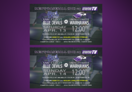 UW-Whitewater Baseball to Host UW-Stout Blue Devils this Weekend, LIVE on UWW-TV!