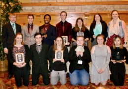 UWW-TV Students Score at Spring WCM Awards