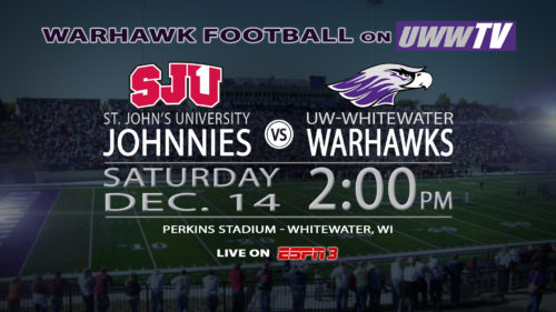 UW-Whitewater Hosts NCAA Division III Football Semi-Final