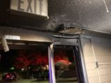 Saturday Night Fire at Tutt Hall Entryway Under Investigation