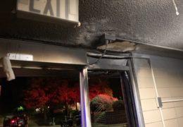 Saturday Night Fire at Tutt Hall Entryway Under Investigation