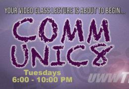 "COMMUNIC8 – ""COMM 110 – The Art of Public Speaking, Chapter Nine: Organizing the Speech"""