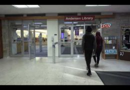 "UWW-TV News ""Anderson Library"""