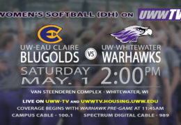 Warhawks vs. Blugolds – May 1st at 2 p.m.