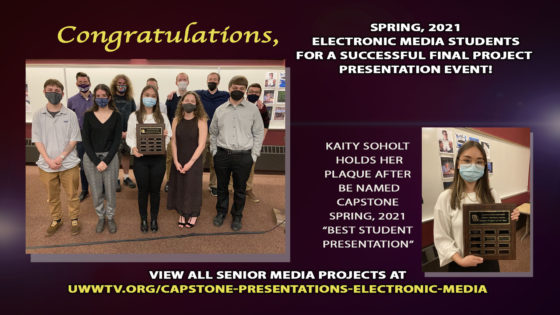 Spring 2021 Capstone Presentations