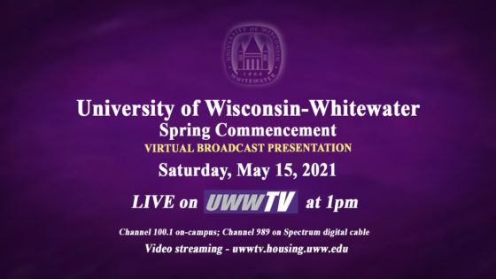 Commencement for Spring 2021