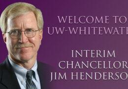 Interim Chancellor Henderson Addresses the UW-Whitewater Campus